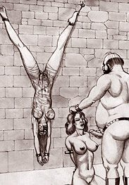 Slave castle - suck my fat prick and swallow my cum by Badia