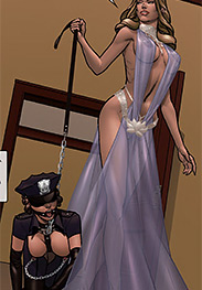 Kitty Hand, Comischef fansadox 546 Objection overruled part 2 - Prettiest of the slavegirls have a chance of keeping themselves favored and petted